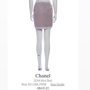 Chanel 2014 Spring Collection Skirt